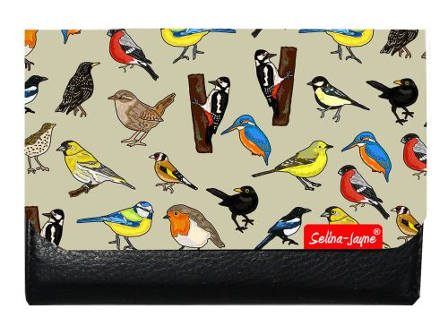 Selina-Jayne British Birds Limited Edition Designer Small Purse